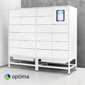 Optima Locker lainaukseen 2 x 12 lokeroa